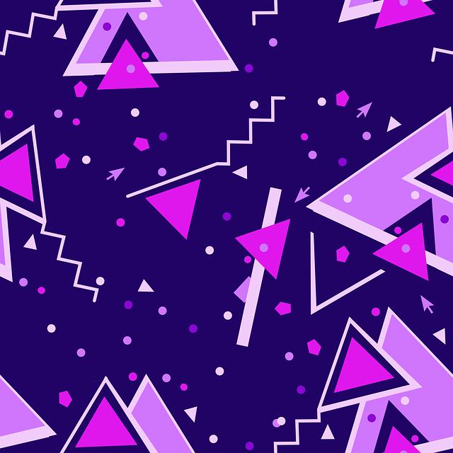 fialový memphis