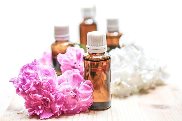 éterický olej, květina