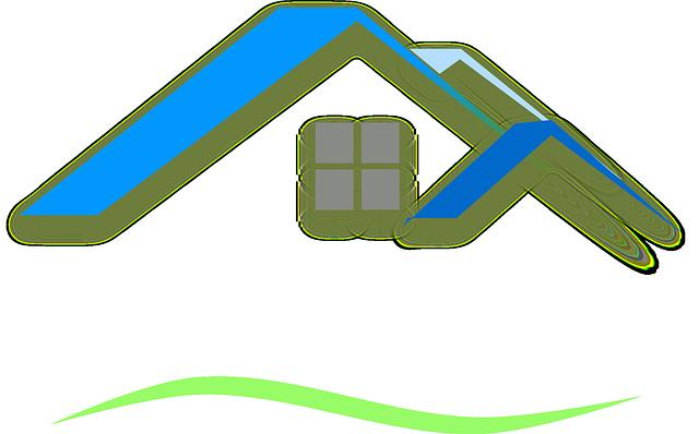 ilustrace dům, střecha