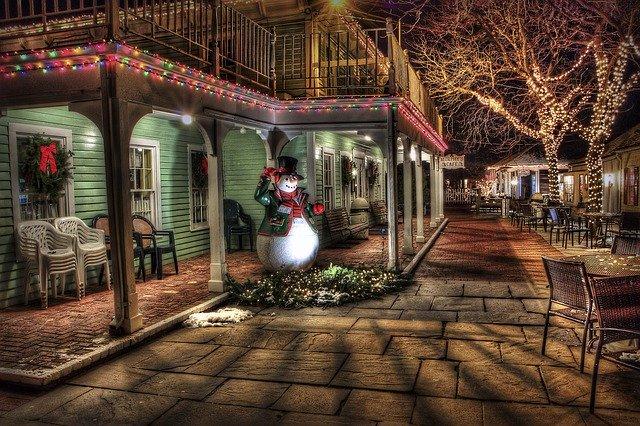 dům, ozdoby vánoční