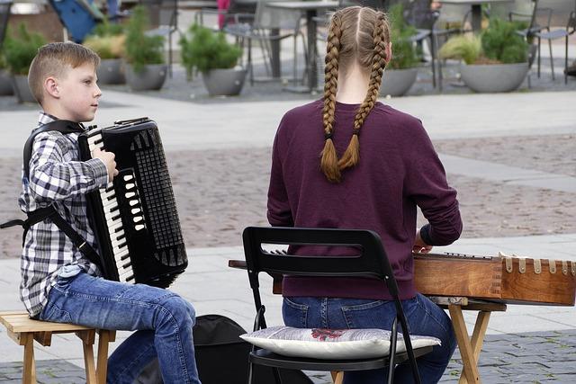 Dětské hudební nástroje pro nejmenší