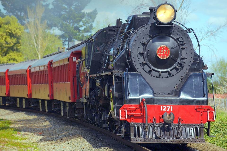 nostalgický vlak